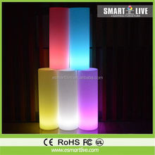 Competitive price outdoor decorations inflatable pillar with led light