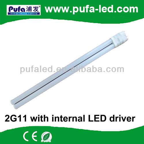 doble tubos de repuesto para philips pll 7w 2g11 llevó la luz del tubo