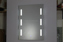 GS warrant commercial price white led bath mirror