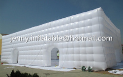 Manufacturer 20M Giant inflatable outdoor tents /giant inflatable tent