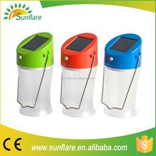 small portable new design long lifespan solar lamp