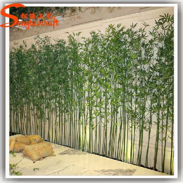 Bambu Decoracion Exterior ~ ingrosso fabbrica di plastica a buon mercato bamb? pali recinzione di