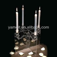 Transparent High Art Decoration Candlestick