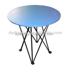 Advertising consoluting table stand Round Table