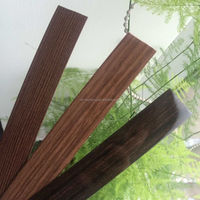 Hi-quality Pre-glued ABS/PVC laminated edge strips for countertop Cabinet Officel Furniture
