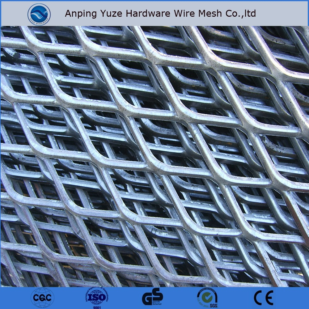 Diamond shape steel wire mesh fence buy high quality