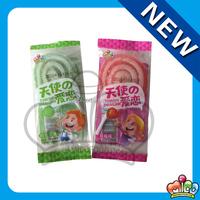 Mico swirl gummy lollipop candy