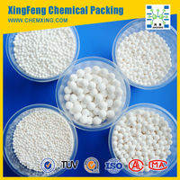 Activated Alumina spherical: 1-2mm, 2-3mm, 3-5mm, 4-6mm, 5-7mm, 6-8mm