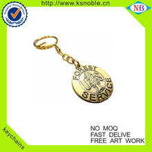 OEM logo design custom metal 3D keychain