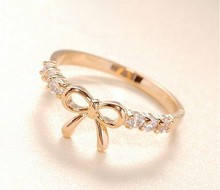 Fashion cheap gold rings without stones