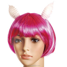 Colorful halloween party wig