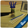 Food Grade PP Paper Wrapped Straight Drinking Straw