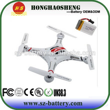 Free Delivery 3.7 v 500 mAh 752540 Model remote control helikopter battery