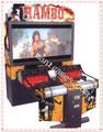 Máquina juego de disparar Rambo