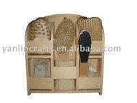 Modem wooden bath set