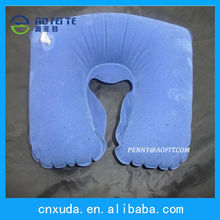 INFLATABLE TRAVEL NECK PILLOWS - FLIGHT REST SUPPORT CUSHION FOR HEAD