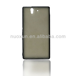 Good quality 2 IN 1 case cover for sony xperia z l36h