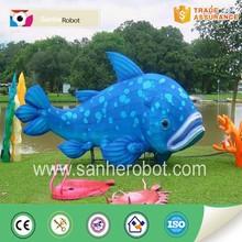 Amusement park vivid lantern fish