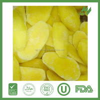 Best sell top sell frozen mango sliced