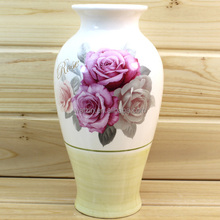 Ceramic Decoration Flower Tall Vase