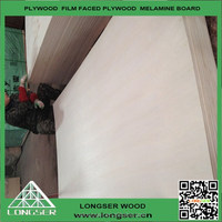 high Quality double-sided decoration packing plywood 1220mm*2440mm E1 glue manufacturer