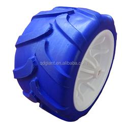 7x4 inch PU foam wagon wheels