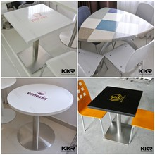 Made in China ss table base and marble dining table
