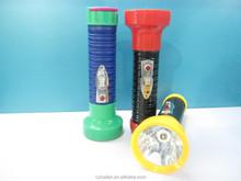 High Power Torch Light Dry battery Led Flashlight 2D Afrika