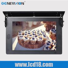 18.5 Inch Car/Bus led Screen digital hanging bus display LCD Advertising Player