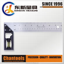 Level Tri Square/Try Square/Measuring Ruler with Zinc Alloy Handle