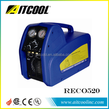 Commercial A/C system oil-less compressor refrigerant recovery unit RECO520