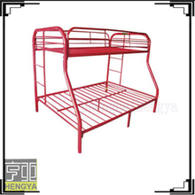 Modern bunk bed living room furniture iron home metal bed