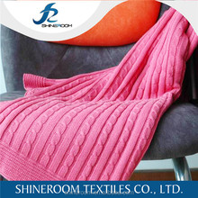 Widely Used Branded Indian Heavy Knitted Baby 100 Cotton Blanket