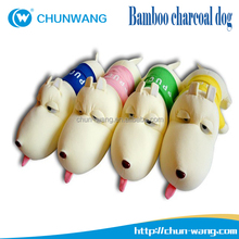 Christmas gifts Cartoon dog toy stuffed bamboo charcoal Soft Plush Toy