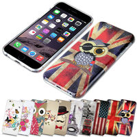 UV Printing Soft Gel Case Cover Skin For iPhone6 Silicon TPU Printed For iphone 5 6 7 8 9