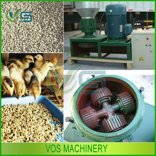 chicken feed machine