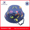 high quality wholesale hot sale blank floral print bucket hat with lace