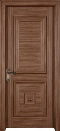 Elegant modern wooden main door design solid wood door for Main door panel design