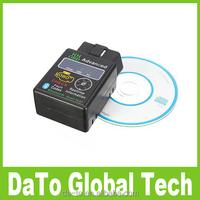 Free Shipping ELM327 HH OBD2 OBD II Bluetooth Car Diagnostic Scan Tool Scanner