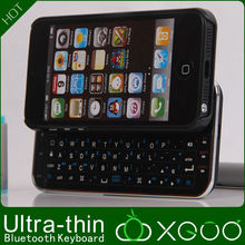 Black And White Mini Bluetooth Keyboard Case For iphone 5,XGUO