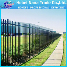 ISO 9001 Factory Sale Cheap Wrought Iron Fence Panels for Home , Garden , Yard