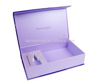 velvet gift box with printing exquisite decorative pattern