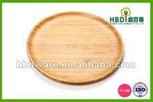 2015 di alta qualità eco- Amichevole bambù piatto da portata, piatto piatto da portata, piatto da portata ingrosso