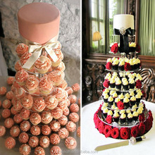 Layer 7 European acrylic wedding cake rack birthday banquet cup cake decoration snack products acrylic cupcake stand
