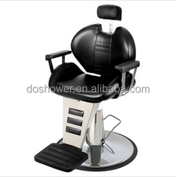 2015 new salon styling chairs metal black old style barber chair