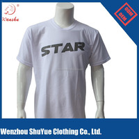 180gsm polyester/cotton advertising t shirt with wholesale price