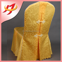 wholesale cheap fancy universal banquet chair cover for wedding, jacquard round back chair covers