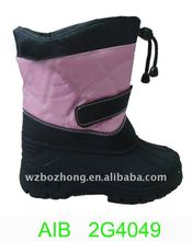 2011 High quality trendy kids' snow boots