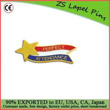 Custom top quality Set of 100 Lapel Pins - Perfect Attendance