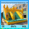 Giant amusement park games with low price inflatable snow slide